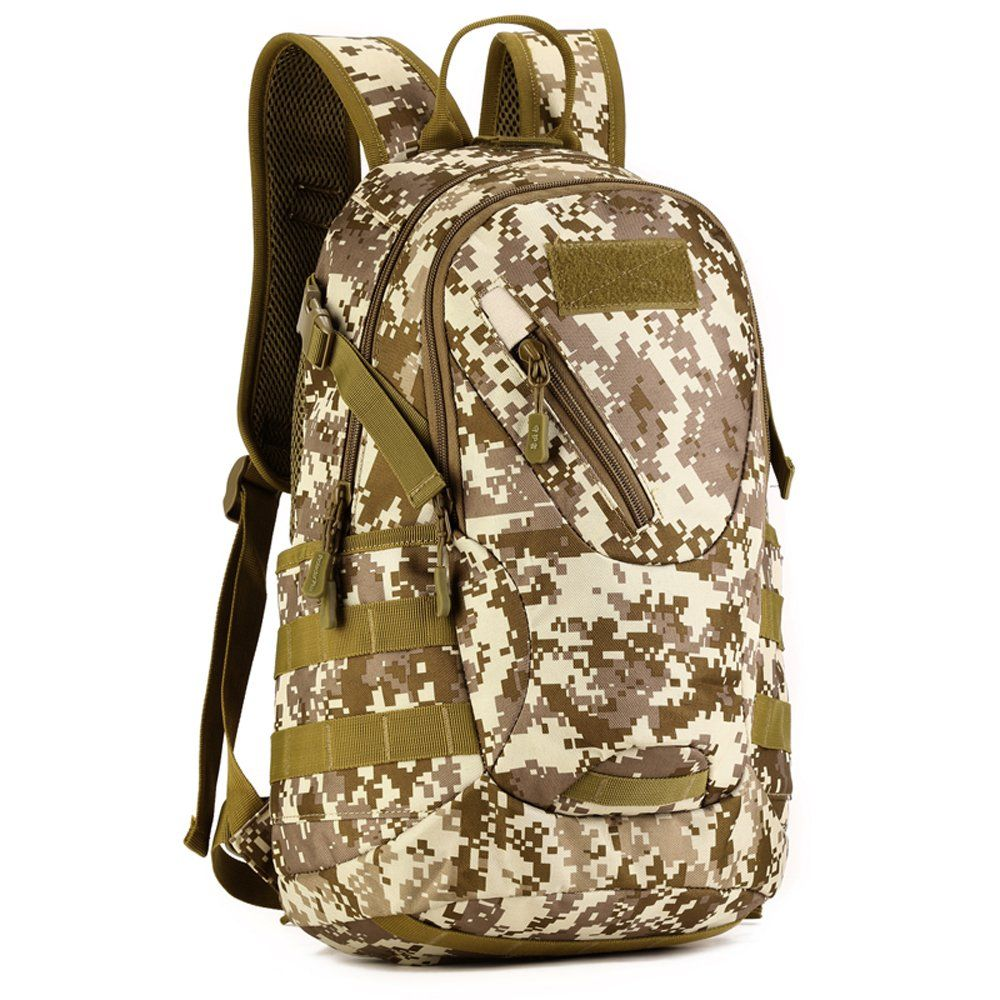 66dfb7ab83f0 X-Freedom Military 20L Backpack Gear Student Daypack School Bag Rucksack  For Hunting Camping Assault Pack
