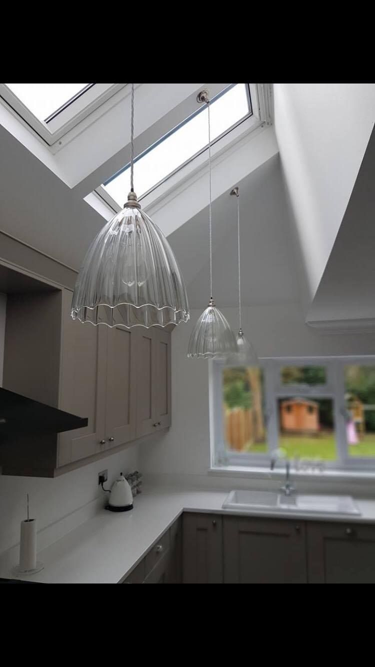 Modern Glass Dome Pendant Light Made In The UK From Our Collection Of House Designer Lighting Ledbury Is A Beautiful Contemporary