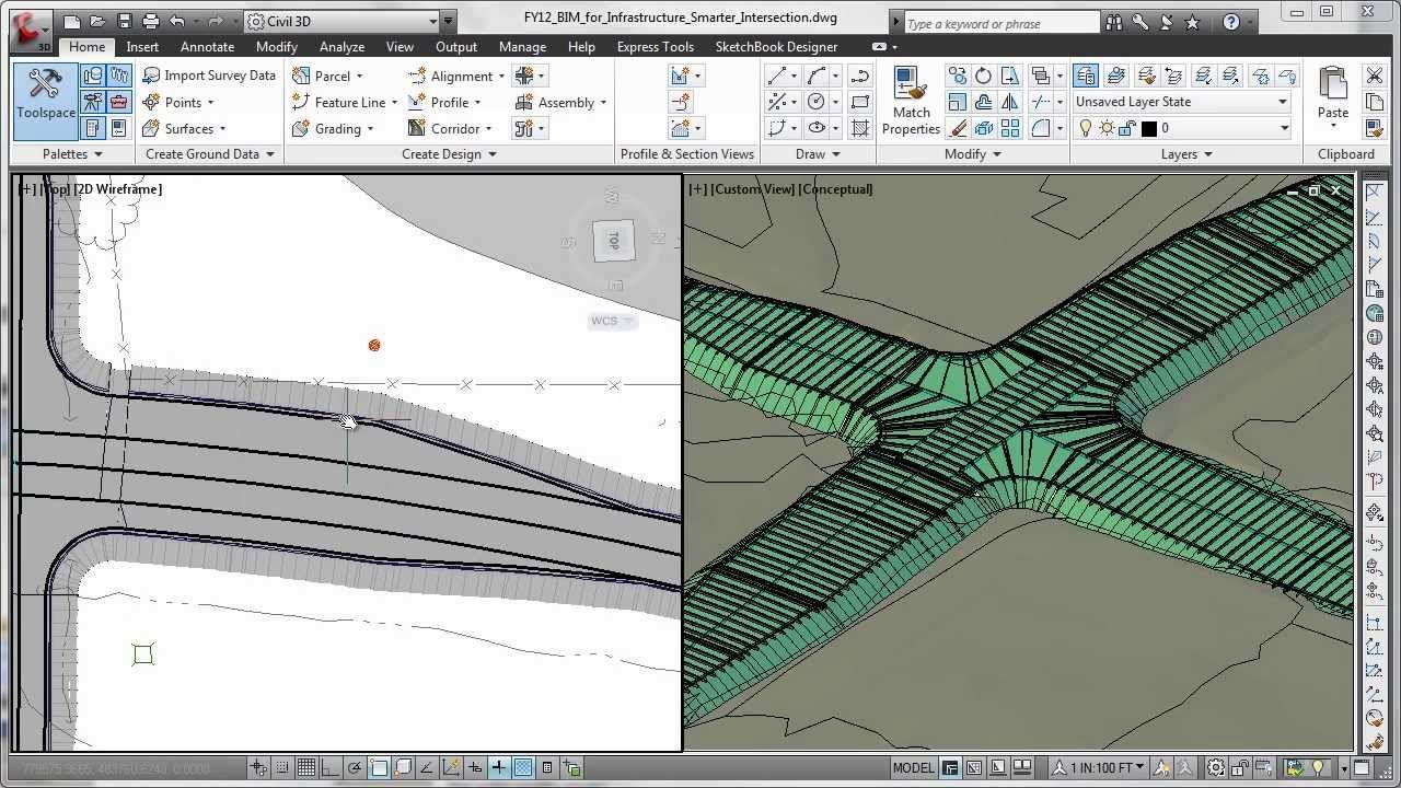 Autodesk Autocad Civil 3d 2014 Overview Autocad Autocad Civil