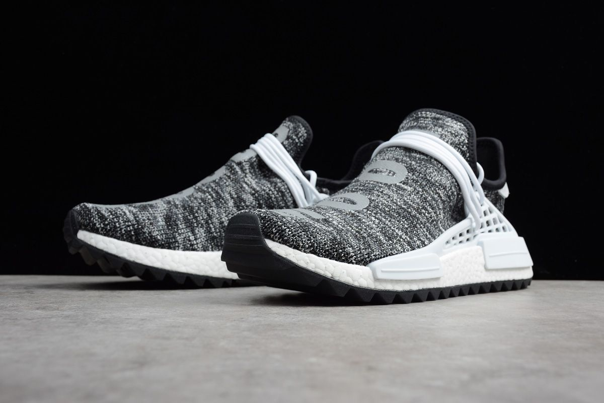 de5f5cf7e 2018 Pharrell x adidas NMD Hu Trail Core Black Footwear White AC7359 Men s  Shoes