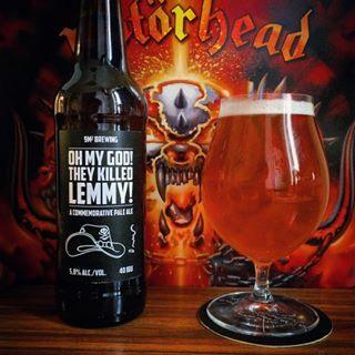 motorhead/ lemmy beer