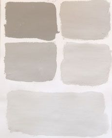 Kitchen cabinets: French linen (greige) color palette.