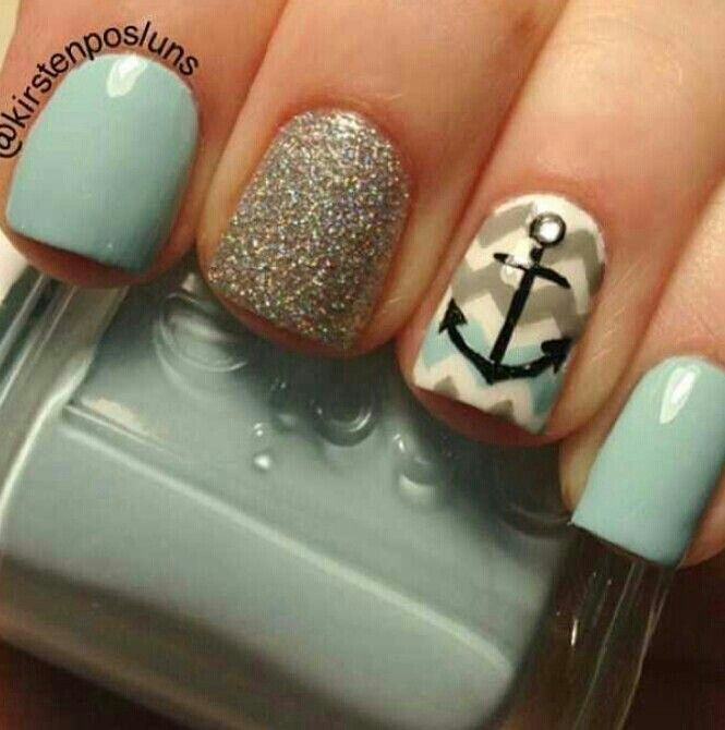 Love the color, design, and pops :) | Nail designs | Pinterest ...
