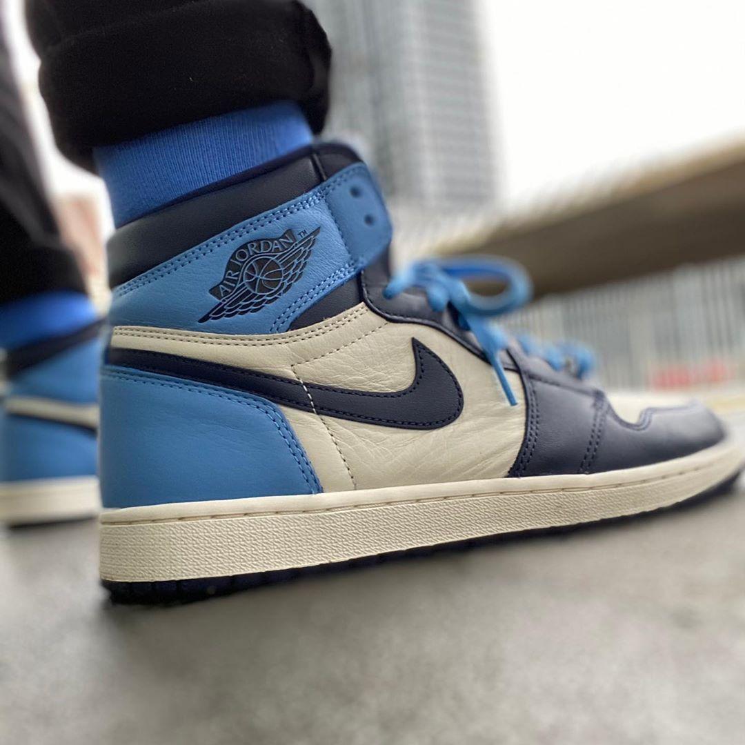 Air Jordan 1 Retro High Og Obsidian University Blue Nike Jordans Nike Air Jordan 1 Retro High Og Obsidian University Blue Basketball Shoes 555088 140 Aj1 Sneakers In 2020 Blue Basketball Shoes Air Jordans University Blue