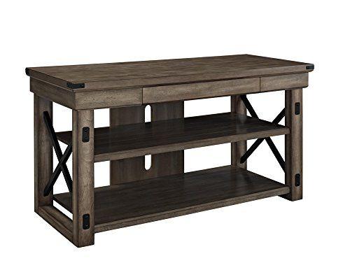 "Altra Wildwood Wood Veneer 50"" TV Stand, Rustic Gray Altr... https://smile.amazon.com/dp/B00JHJ3MGY/ref=cm_sw_r_pi_dp_G74txb7AQ3946"