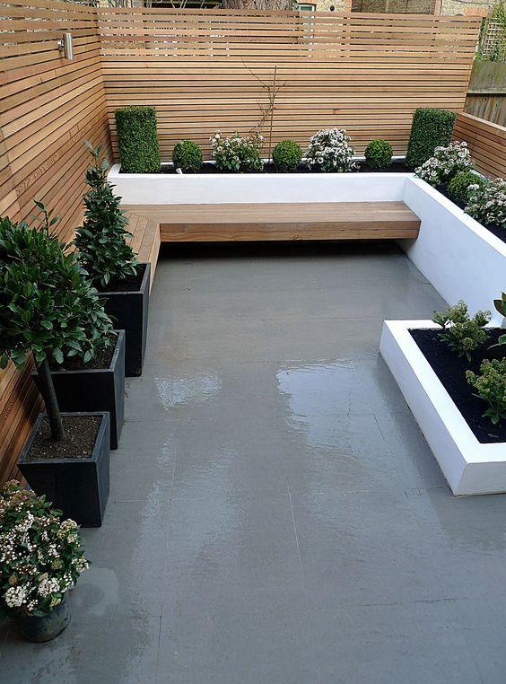 Terrazas patios modernos 26 ideas debes ver cuanto for Patios y jardines modernos