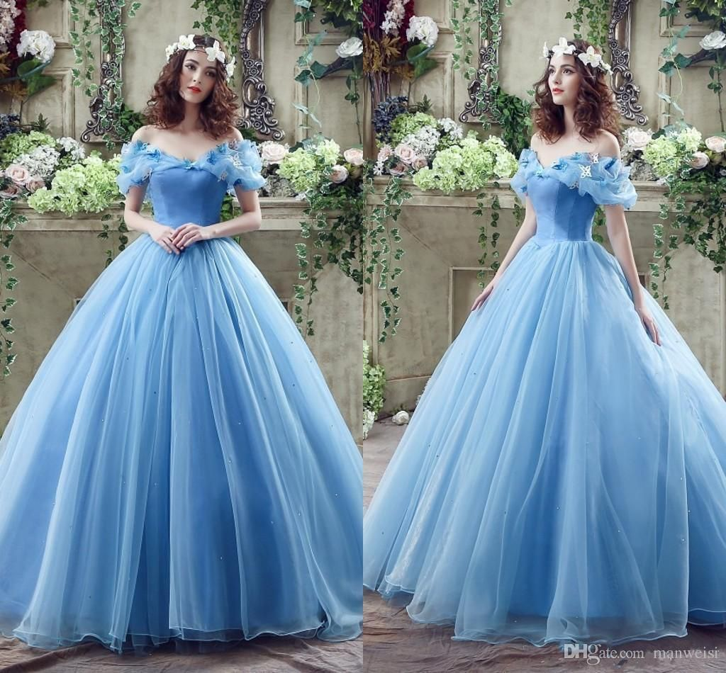 princess ball gown prom dresses - prom dresses off shoulder Check ...