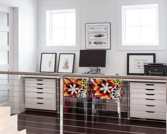 foxy ikea desk accessories decor ideas in home office contemporary design ideas with foxy cable railing colorful desk chair dark wood floor desktop double
