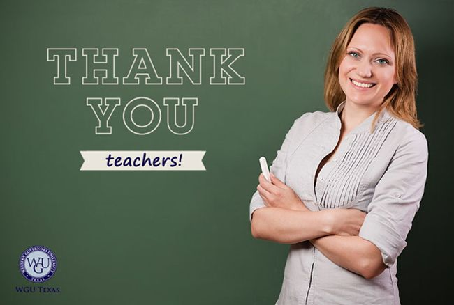 Blog Western Governors University Wgu Texas Teacher Teacher Texas Gear