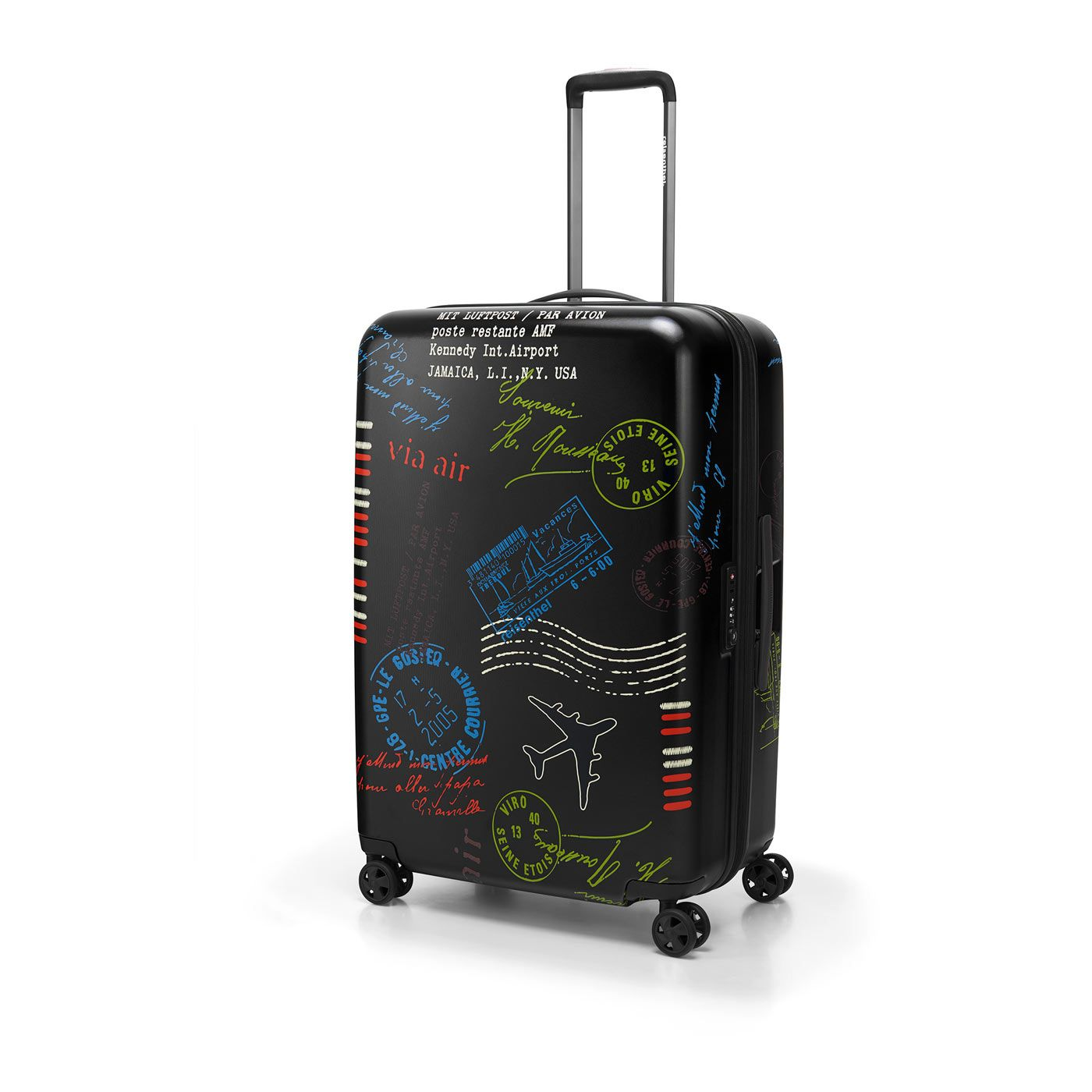 Reisekoffer & -taschen Travelite Elbe Two Trolley M 65 Cm Pilotenkoffer & Trolleys