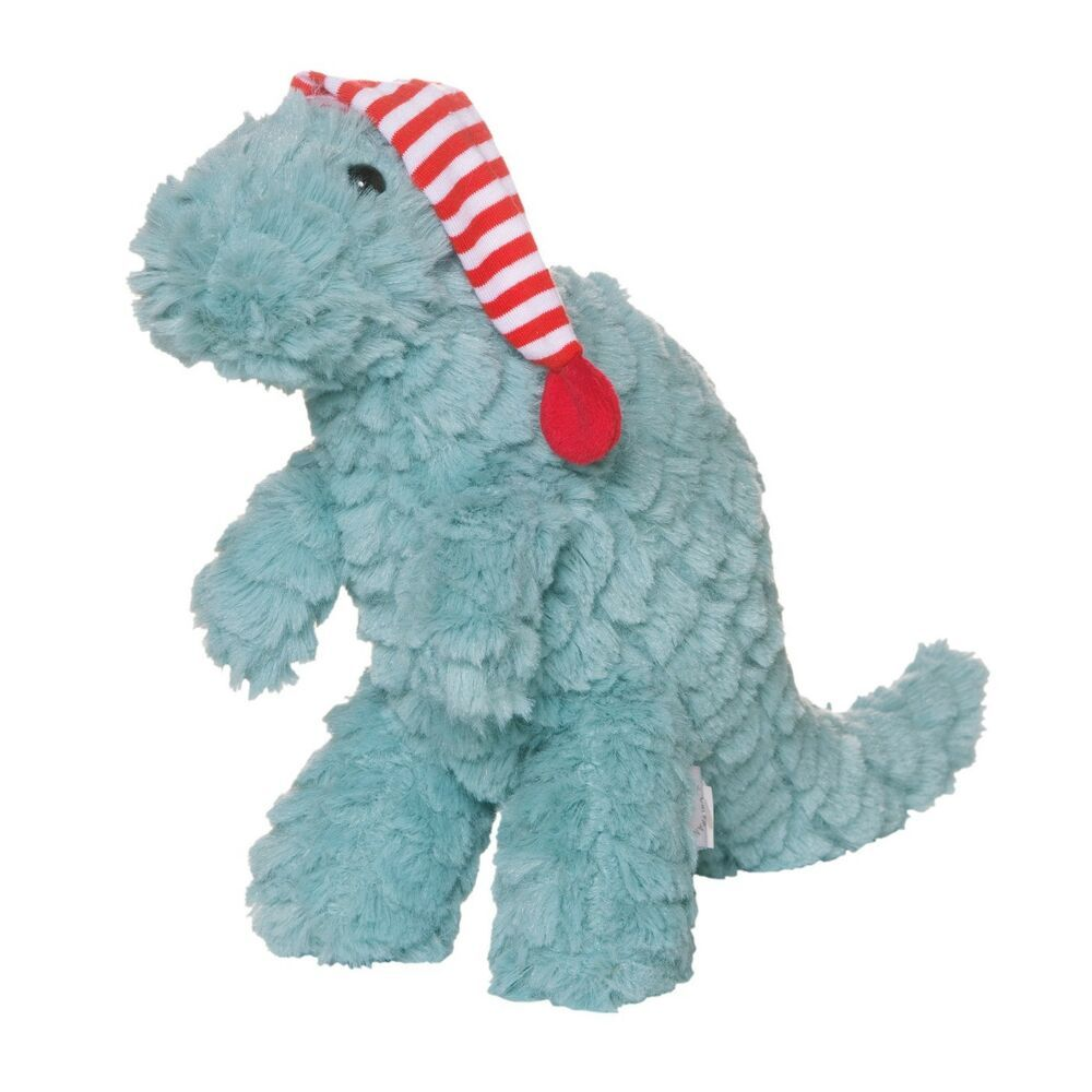 Details About Manhattan Toy Little Jurassics Blue Dinosaur Plush T