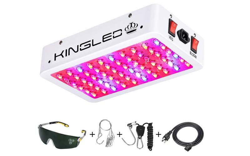 King Plus 600w Led Grow Light Review Is It Better Or Not Led Grow Lights Indoor Grow Lights Led Grow