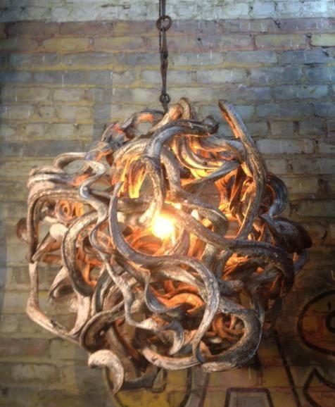 Madusa- Rootball chandelier | Omega Lighting Design
