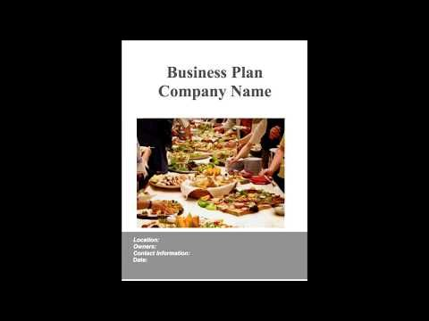 Catering business plan example - YouTube business plans - catering business plan