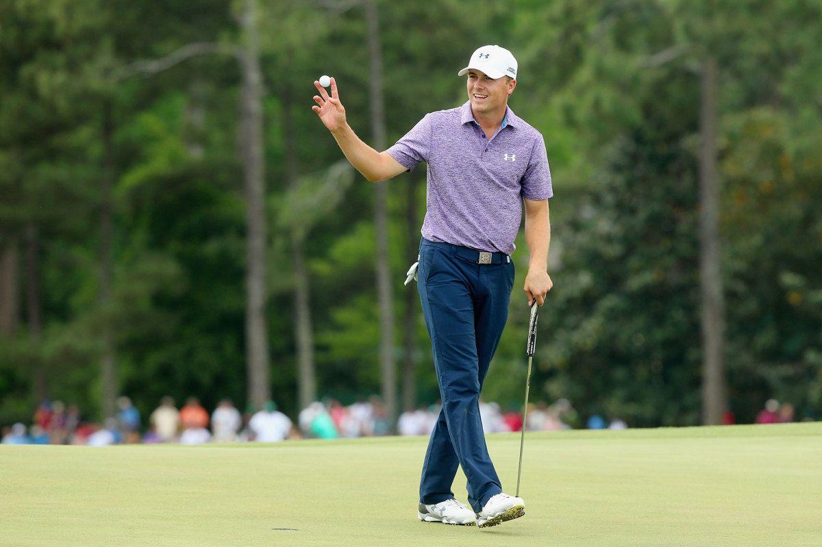 Jordan Spieth S Historic Masters Friday In 13 Unbelievable Stats Jordan Spieth Confidence Building Golf Training Jordan Spieth