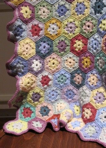 hexagon crochet - Google Search