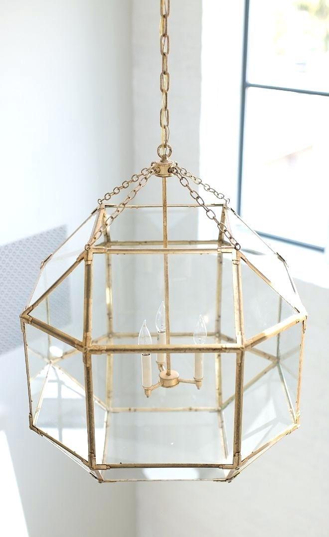 Suzanne Kasler Lighting Lantern In Gilded Iron Lots Of
