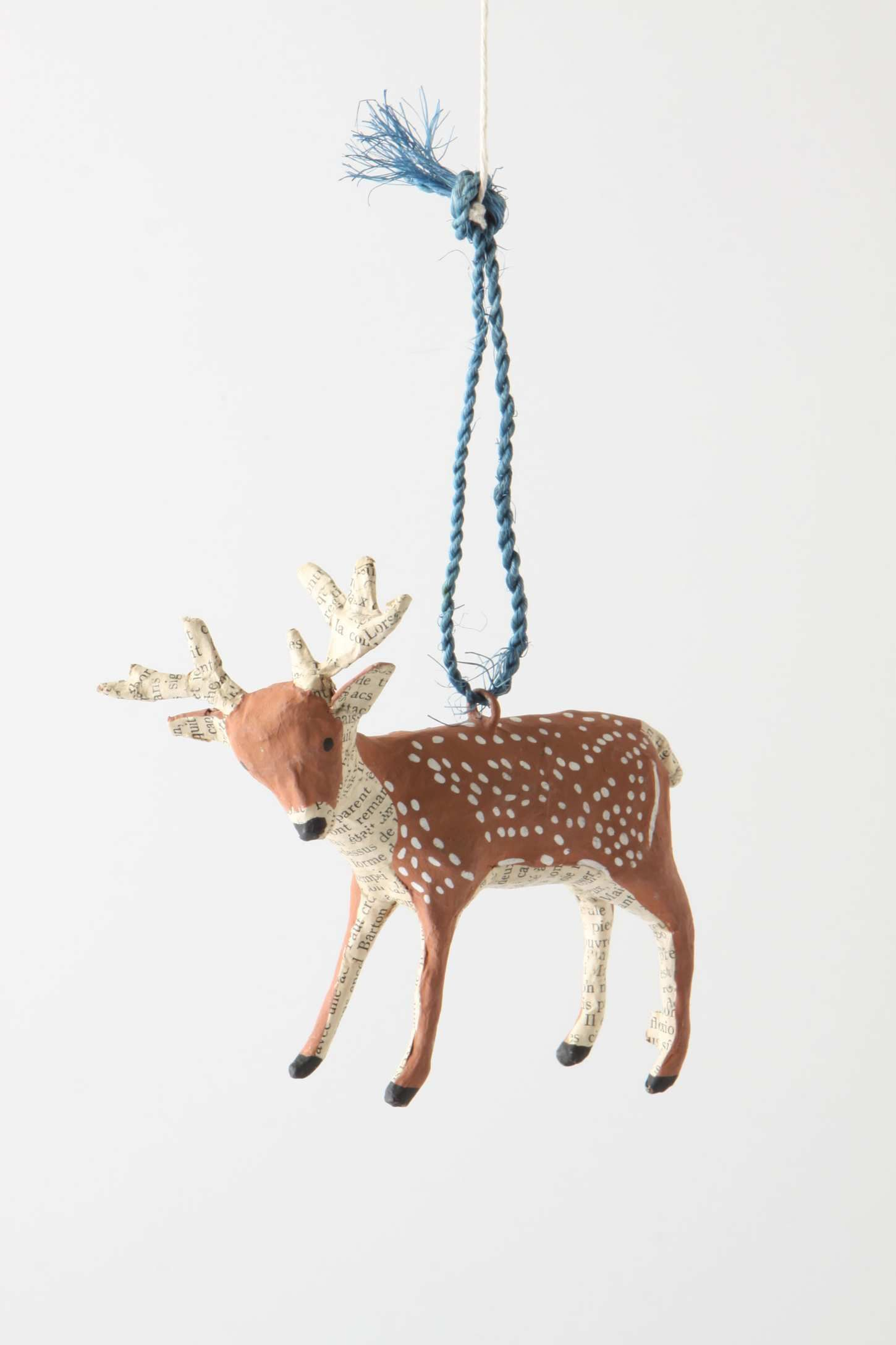 Forest Story Deer Ornament