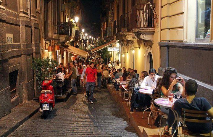 Via Santa Filomena Catania Sicilia