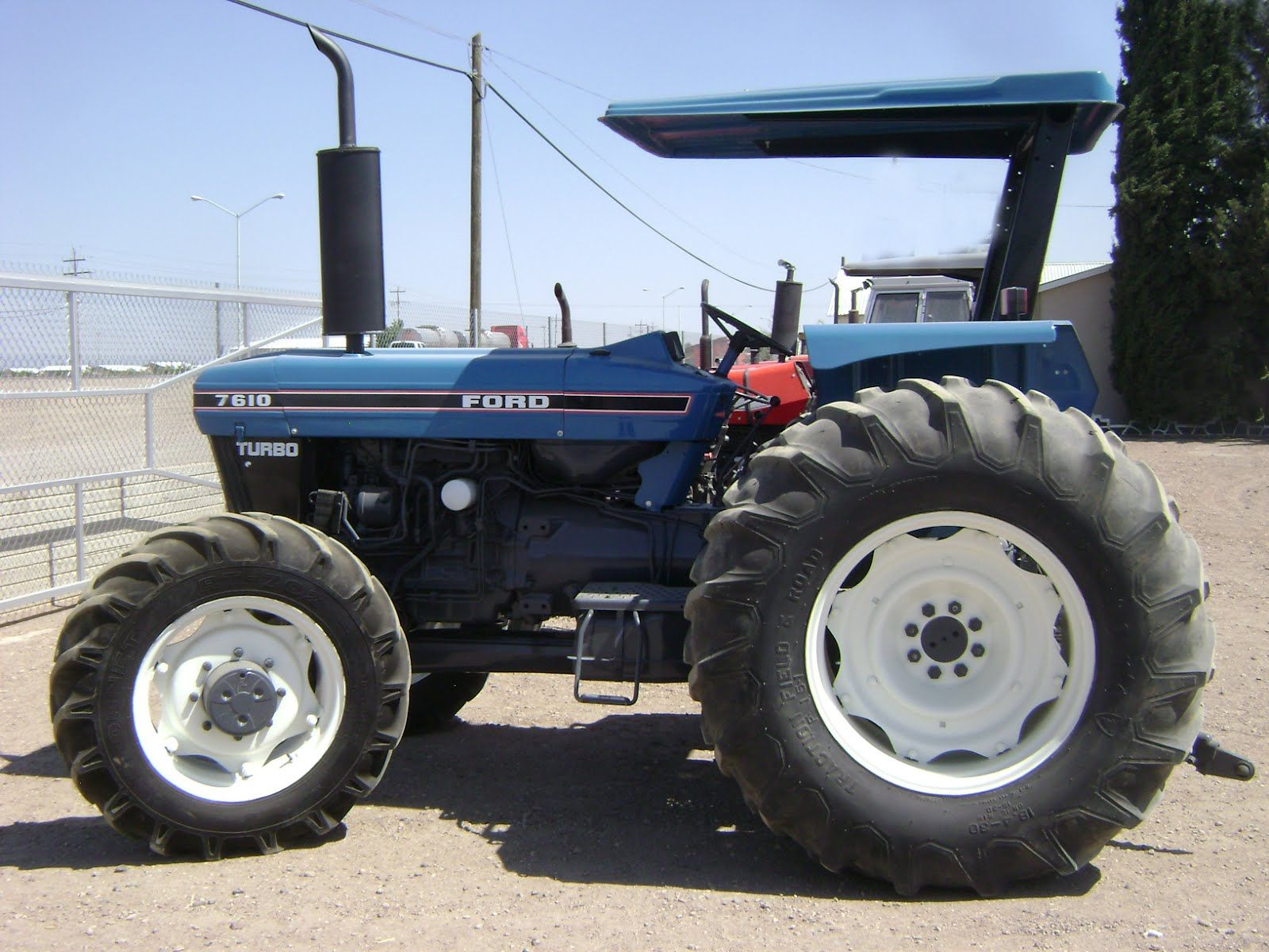 Ford 7610 Turbo Ford Tractors Tractors New Holland Tractor