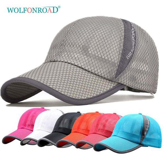 2c84837e9 WOLFONROAD Summer Men Women Hiking Caps Outdoor Sport Camping Hats Men UV  Protection Mesh Baseball Cap Headwear Caps L-YSM-001 Review