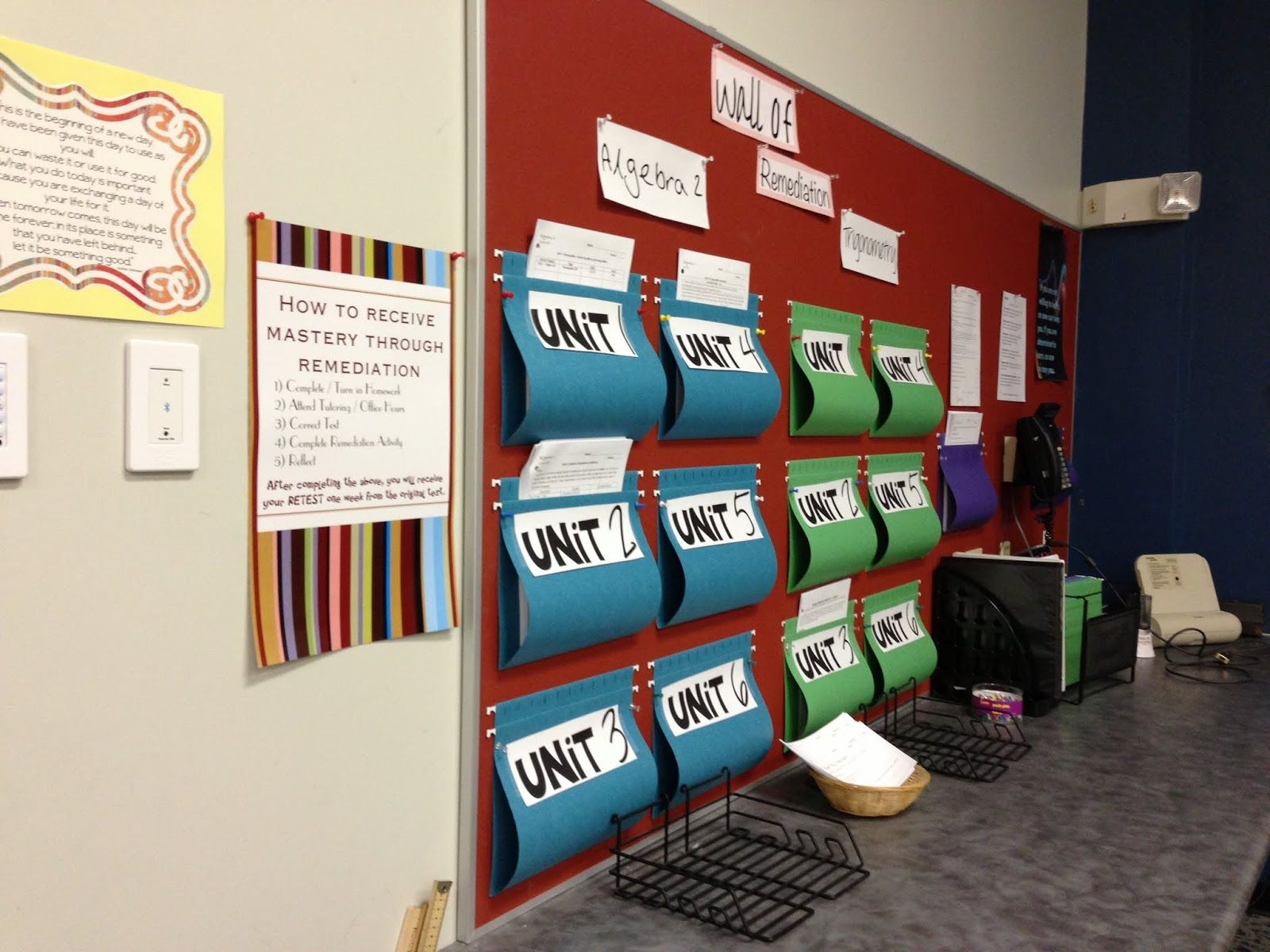High School Math Classroom Decorating Ideas ~ The secondary classroom can be fun too decorating my