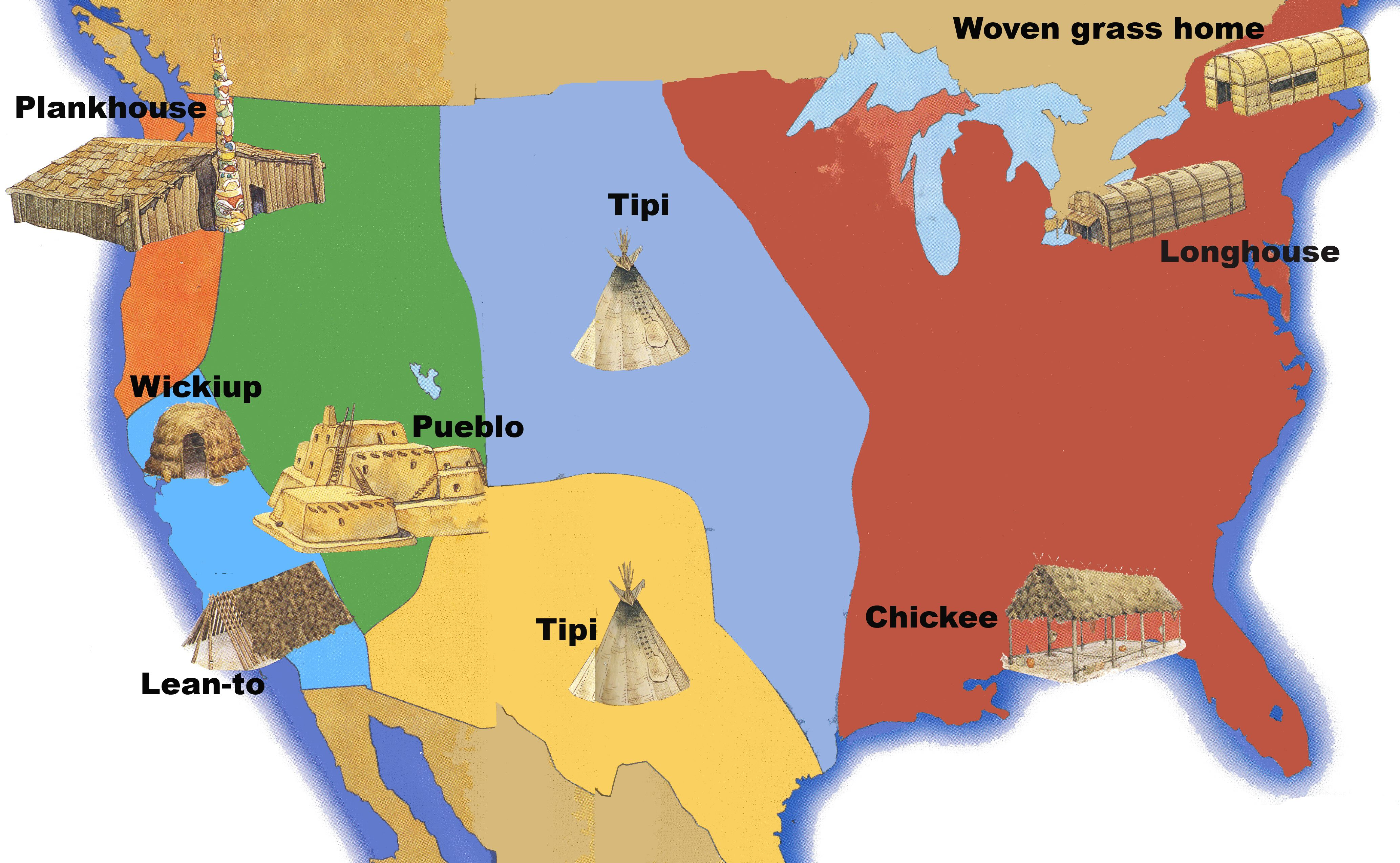 Native American Homes With Images
