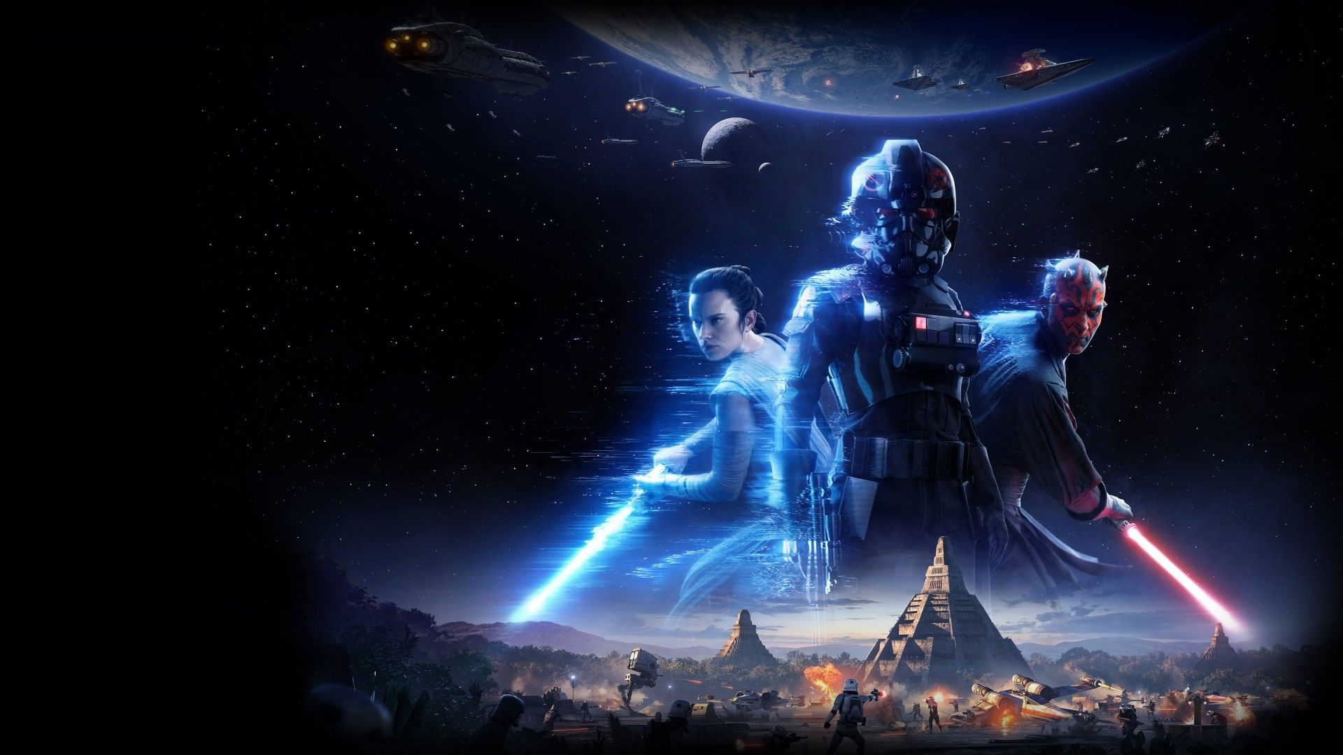 Star Wars Battlefront 2 Hd Wallpapers Theme Star Wars Wallpaper Star Wars Games Star Wars Battlefront