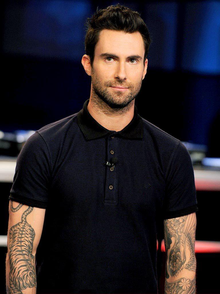 Adam Levine Tiger Tattoo : levine, tiger, tattoo, Darling, Adam!!, ❤️