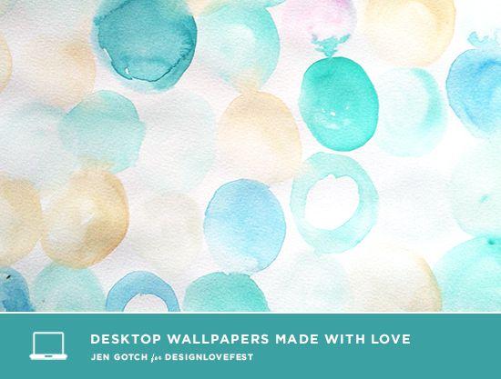 Free Watercolor Desktop Downloads Aqua Wallpaper Wallpaper
