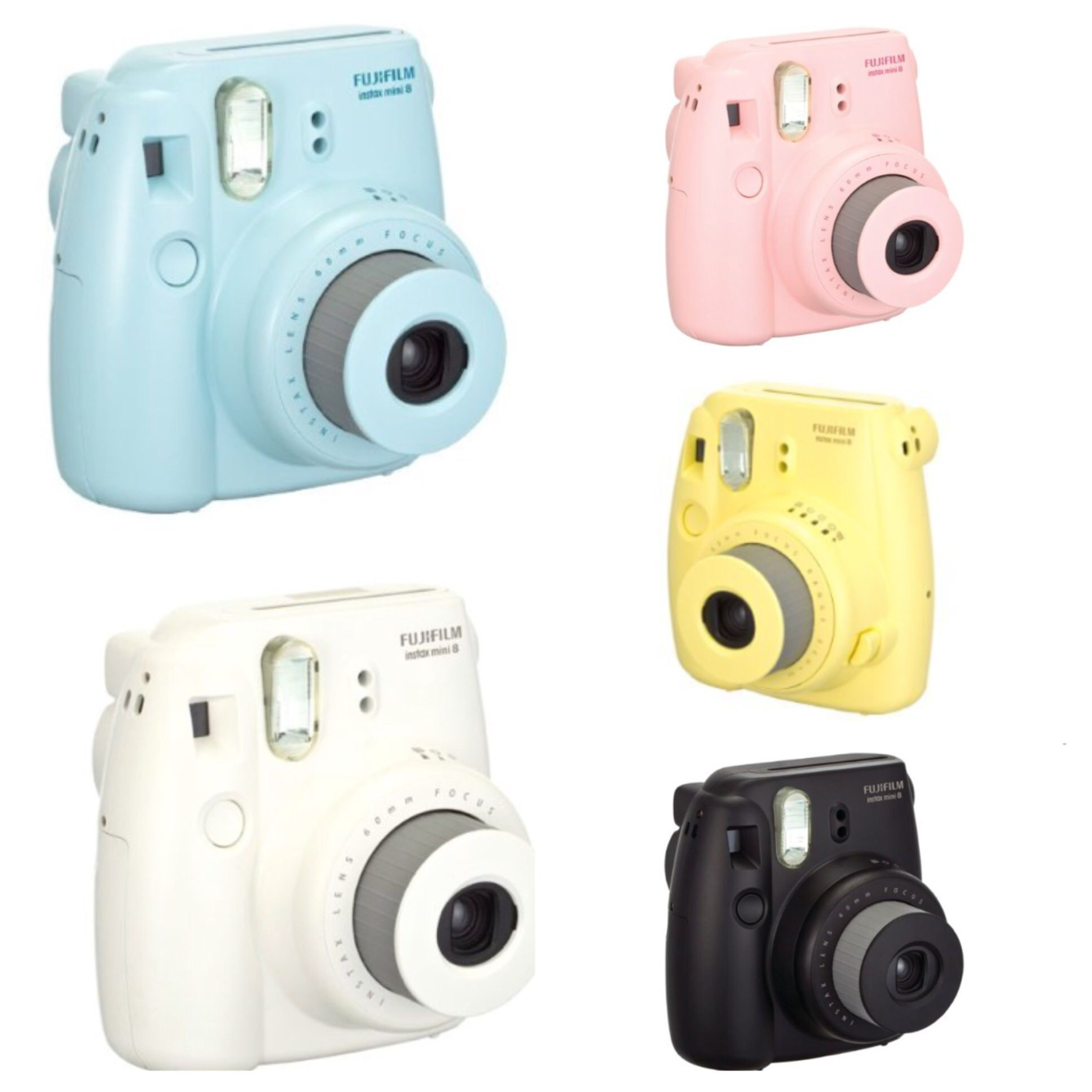 Different Colors For The Fujifilm Polaroid Camera
