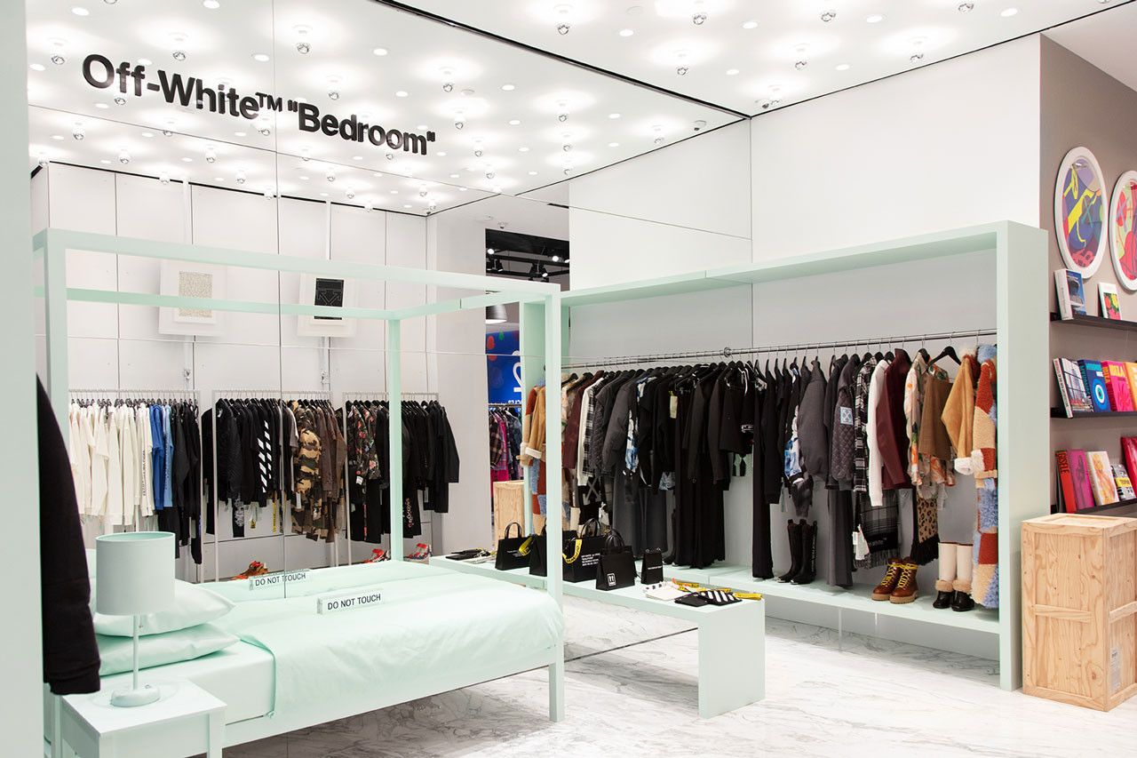 Best Virgil Abloh Designs An Off White™ Bedroom Shop In Shop 400 x 300