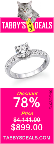 1 ctw. Round Diamond Solitaire Engagement Ring in 14k White Gold $899.00