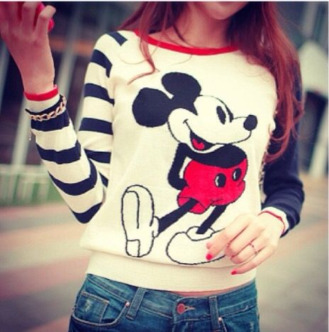 I love this shirt #mickeylove