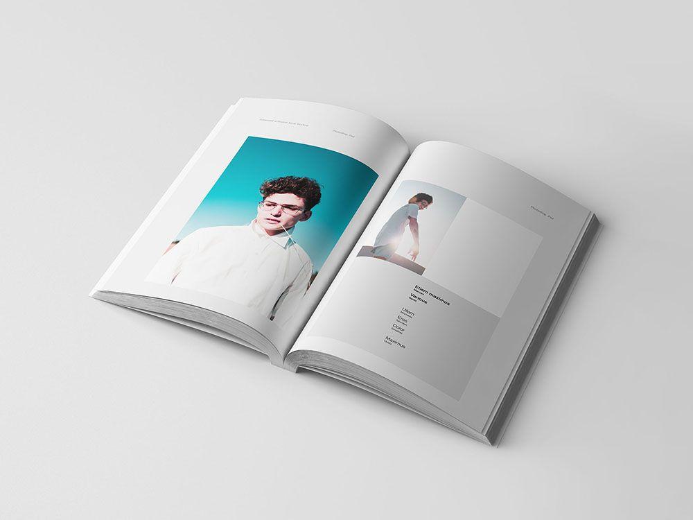 A5 Softcover Book Mockup Mockup Free Psd Mockup A5 Book