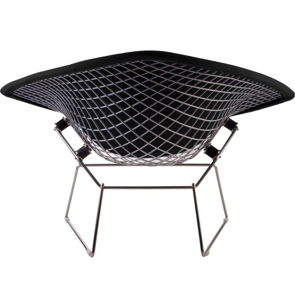 replica harry bertoia large diamond chair upholstered by. Black Bedroom Furniture Sets. Home Design Ideas