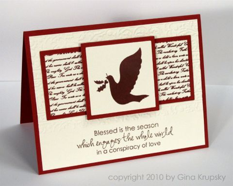 Gina K. Christmas in July- Project 1 - stampTV