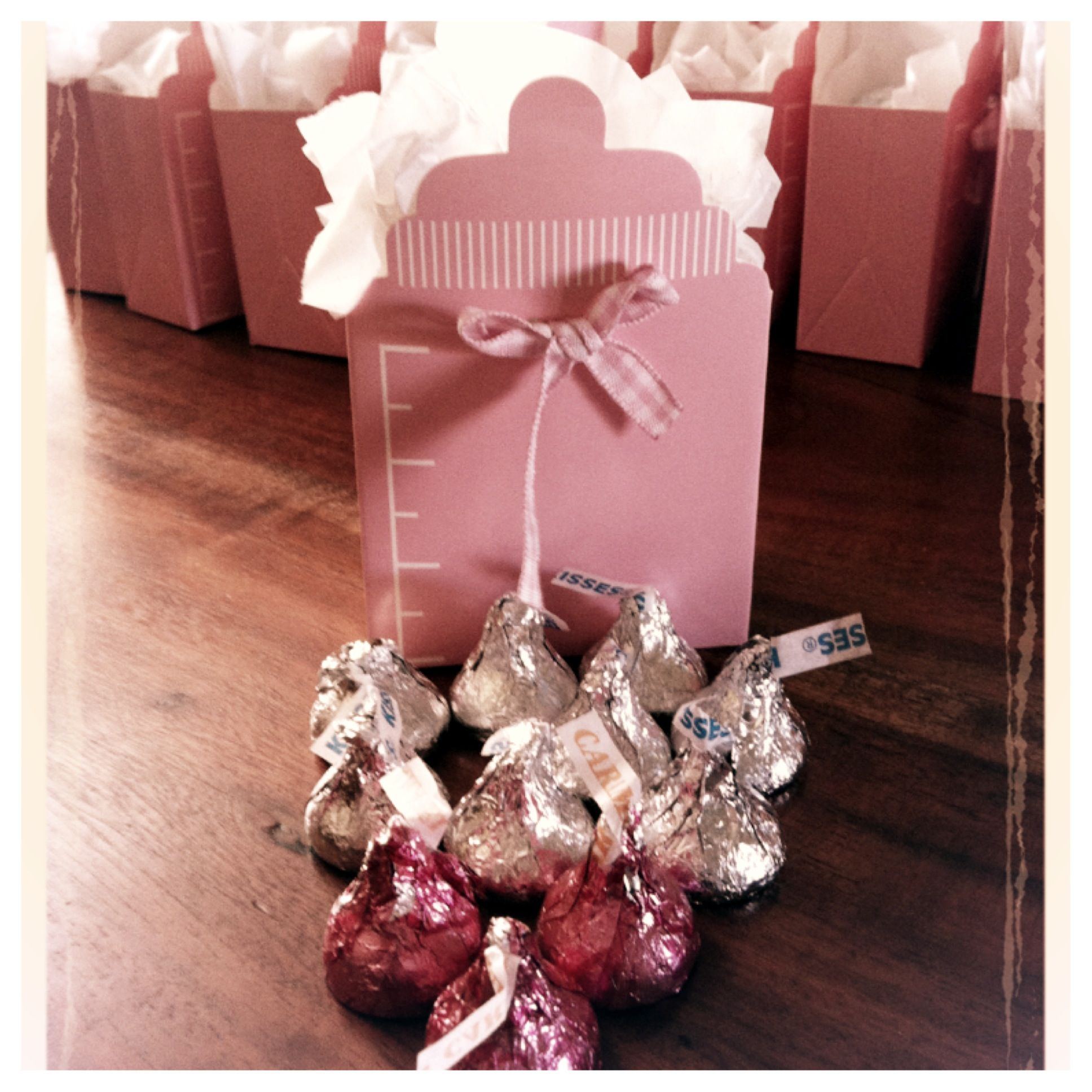 Party Favors - Stocked up on pink hershey kisses during valentines ...