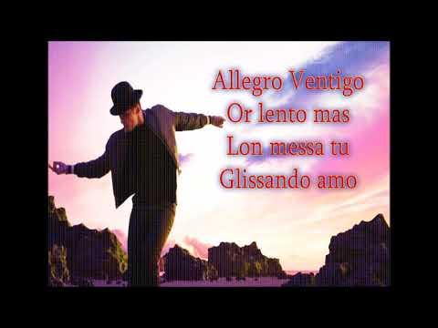 1 Dan Balan Allegro Ventigo Feat Matteo With Lyrics Youtube Lyrics Songs Music Artists
