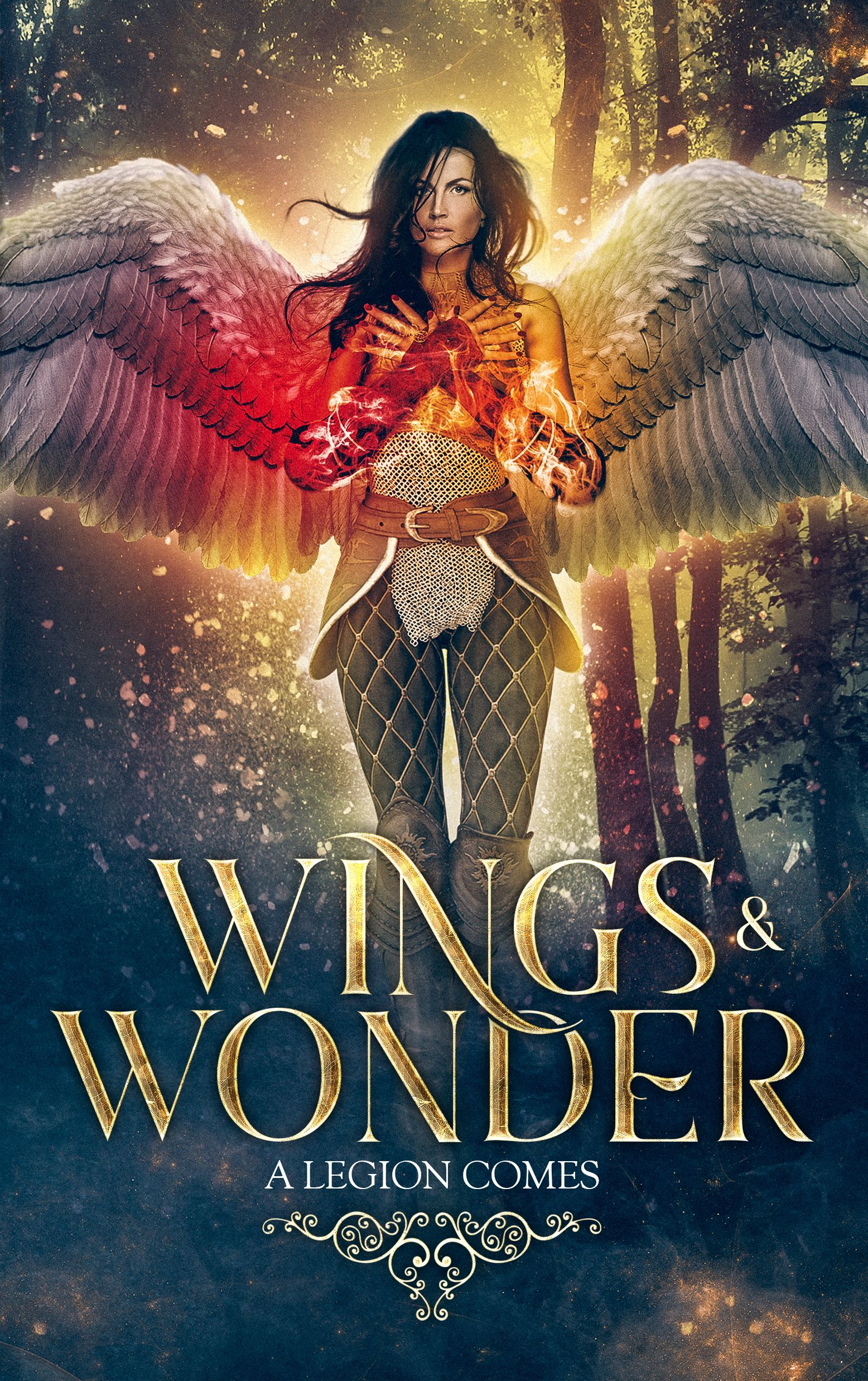 New Fantasy Warrior Angel Book Cover Design Happy Weekend Miblart Bookcoverdesign Selfpublishing Books Des Angel Books Wattpad Book Covers Fantasy Books