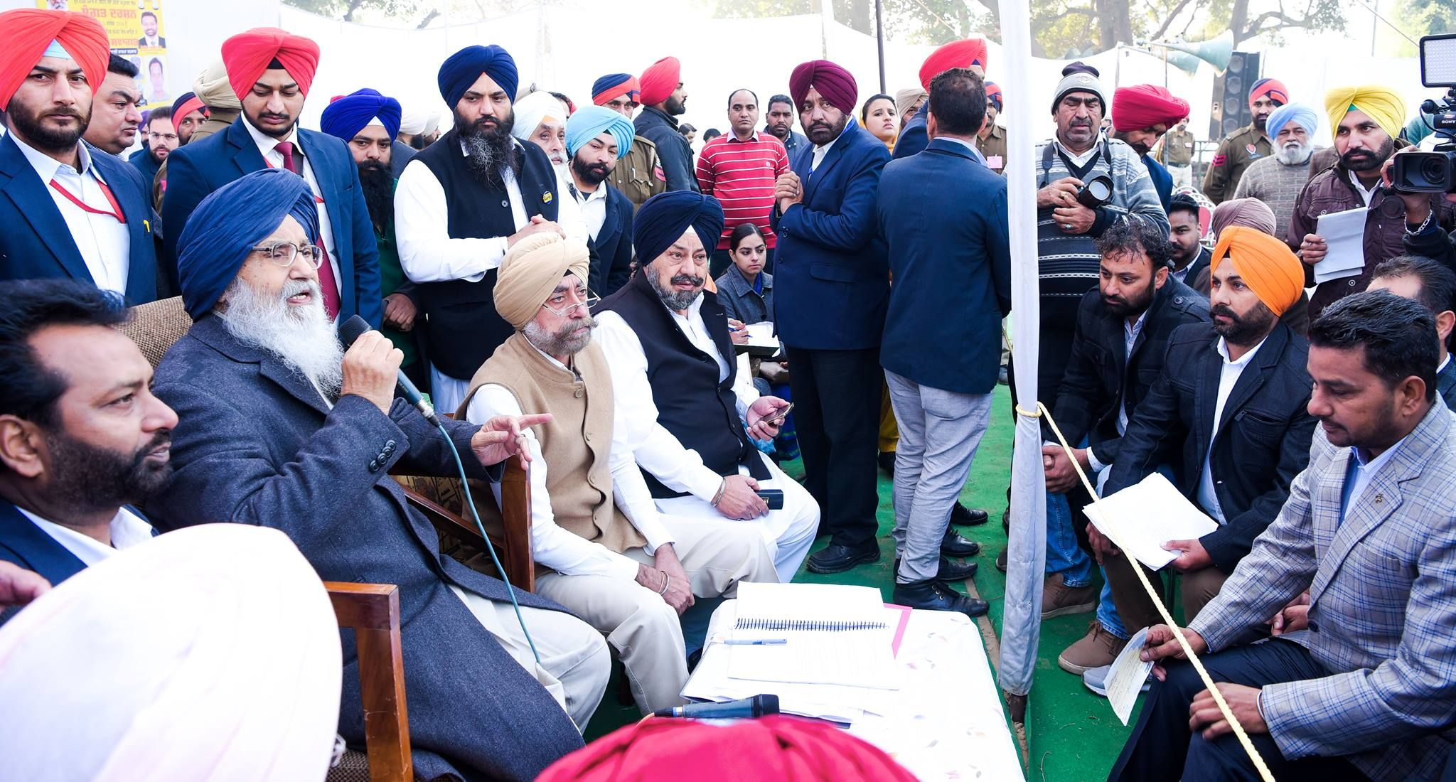 In a bid to promote tourism in the royal city of Kapurthala, the Punjab Chief Minister Mr. Parkash Singh Badal yesterday said that the state government would make all out efforts to give facelift to the Kanjli wetland. Interacting with the people during Sangat Darshan program here, the Chief Minister said that the state government was committed to develop this spot as an ideal tourist destination. #AkaliDal #ProgressivePunjab