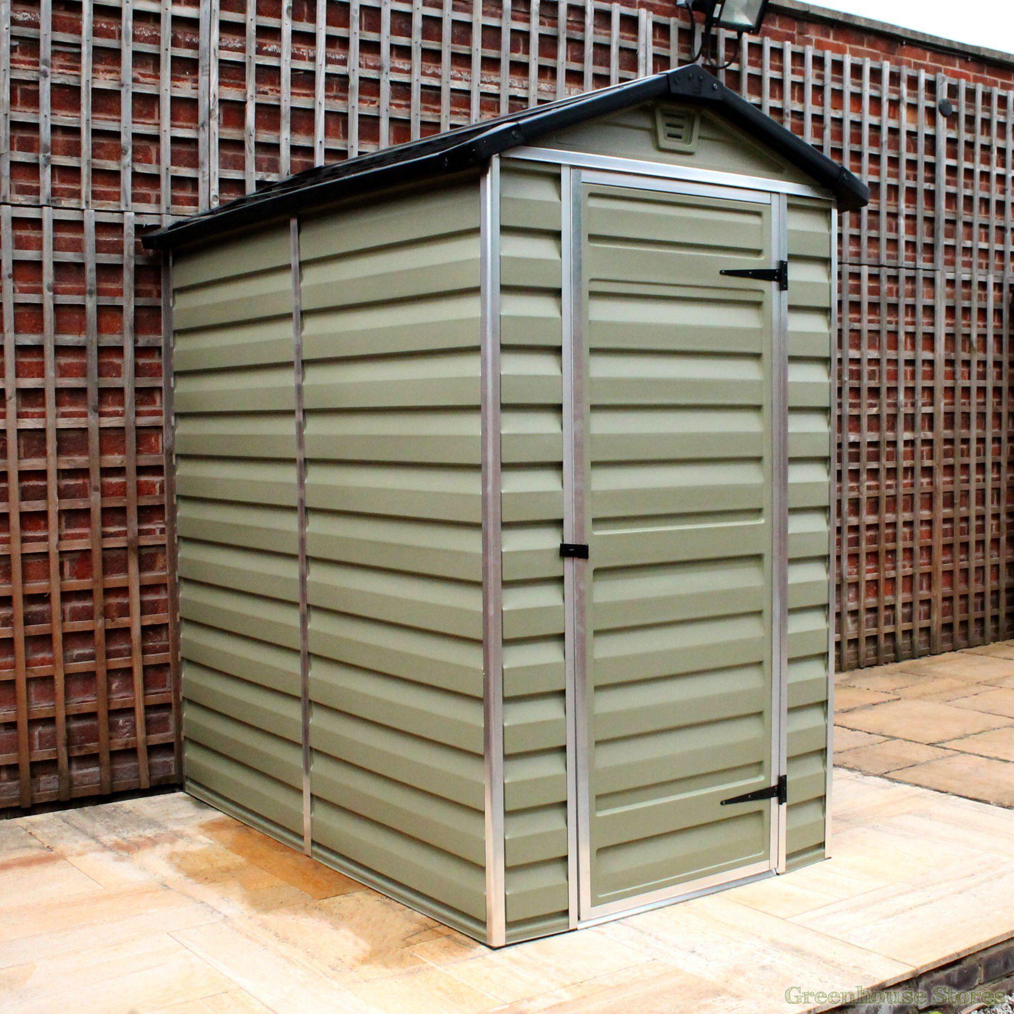 Garden Sheds 3 X 4 palram 4 x 6 plastic skylight shed | plastic, sheds and skylights