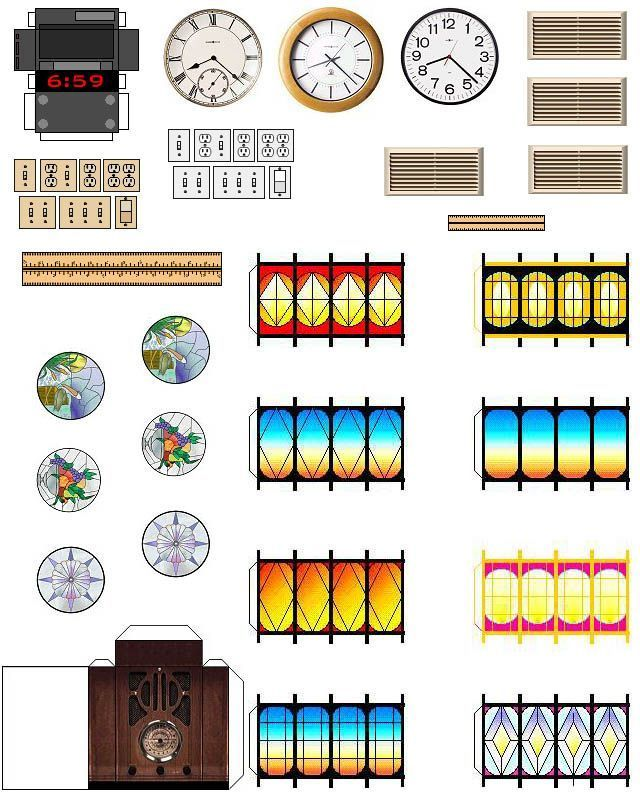 7032 best images about Miniature Printables on Pinterest Paper