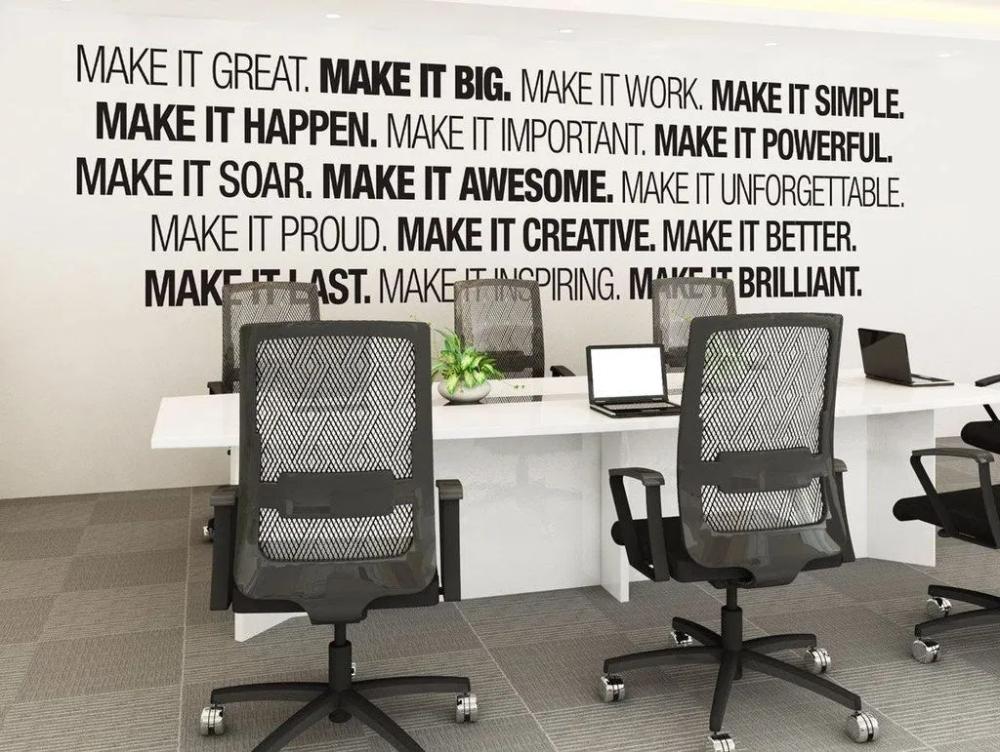 office wall decor ideas Google Search Office wall