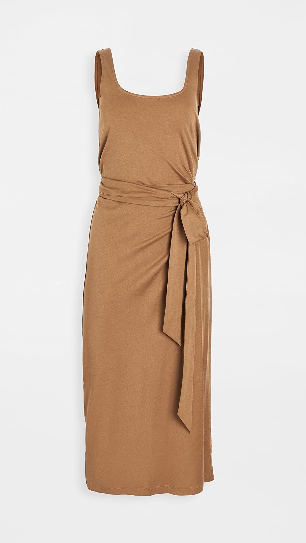 Vince Sleeveless Wrap Dress Sleeveless Wrap Dress Wrap Dress Dresses [ 1773 x 1000 Pixel ]