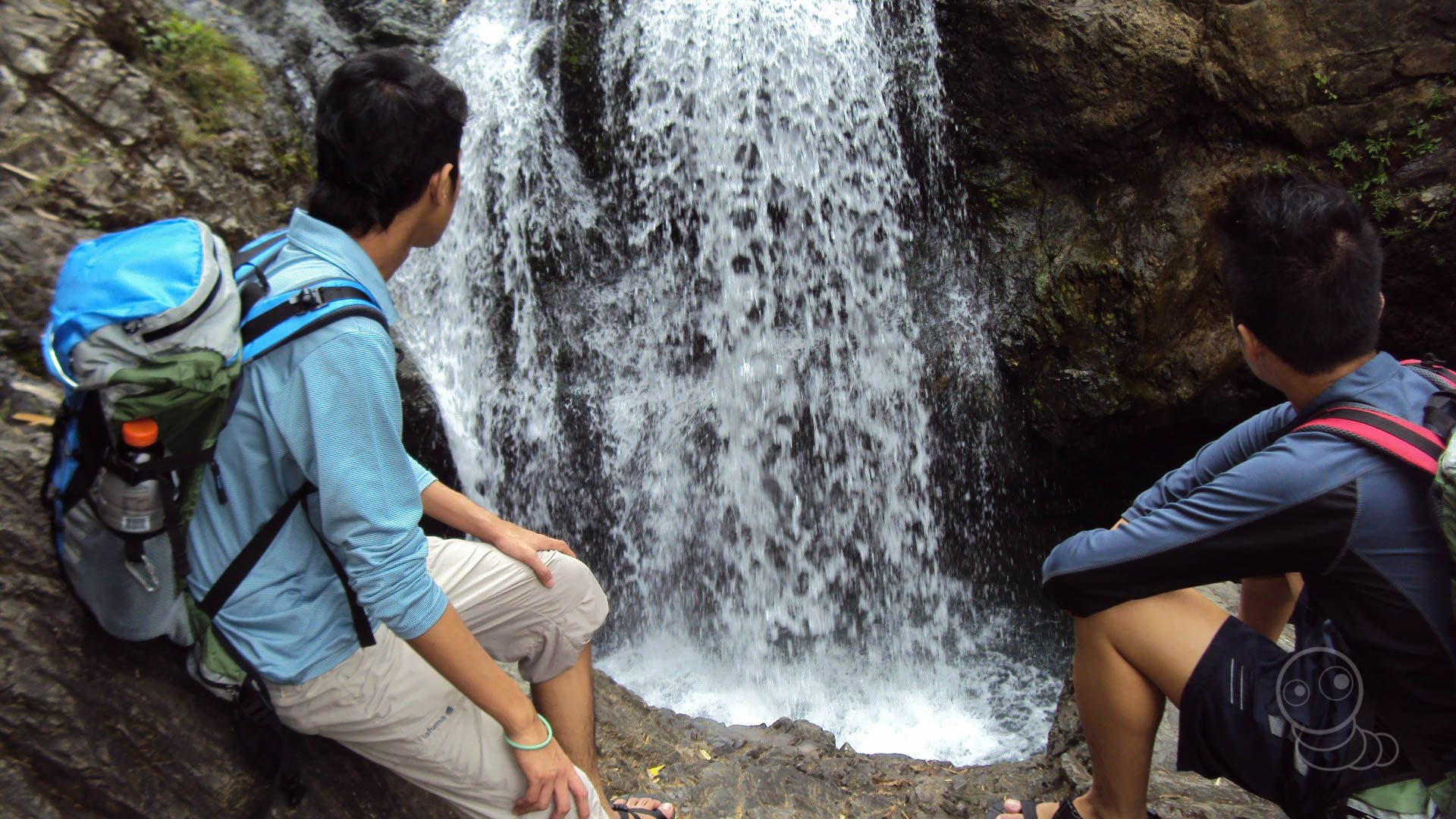 Otso-otso waterfall  This serve as catch basin of Kaytitinga Falls