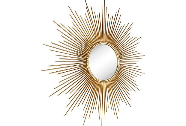 Sunburst Convex Mirror  $199.00