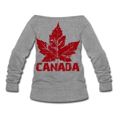 281c613d1 Cool Canada Souvenir Hoodies Sweatshirts & Cool Canada Shirts Distressed  Canada Maple leaf Souvenir Hoodie for Men, Women, Boys & Girls. Original  Cool ...