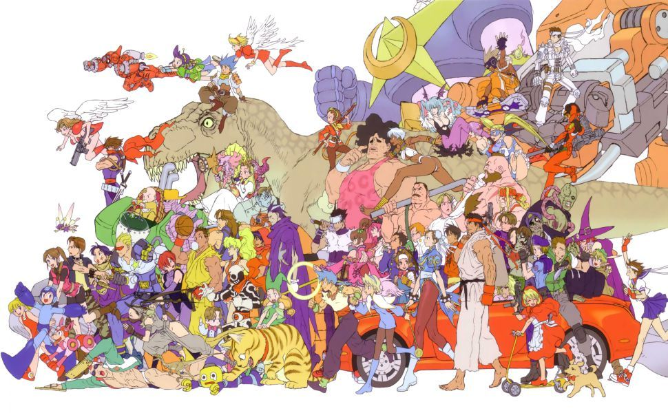 Kinu Nishimura Hd Wallpaper Capcom Art Capcom Characters Capcom Games