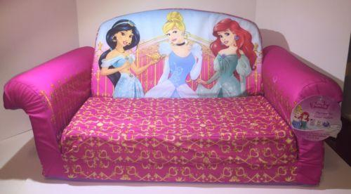 Outstanding Disney Flip Open Sofa Disney Princess Fold Out Couch Kids Onthecornerstone Fun Painted Chair Ideas Images Onthecornerstoneorg